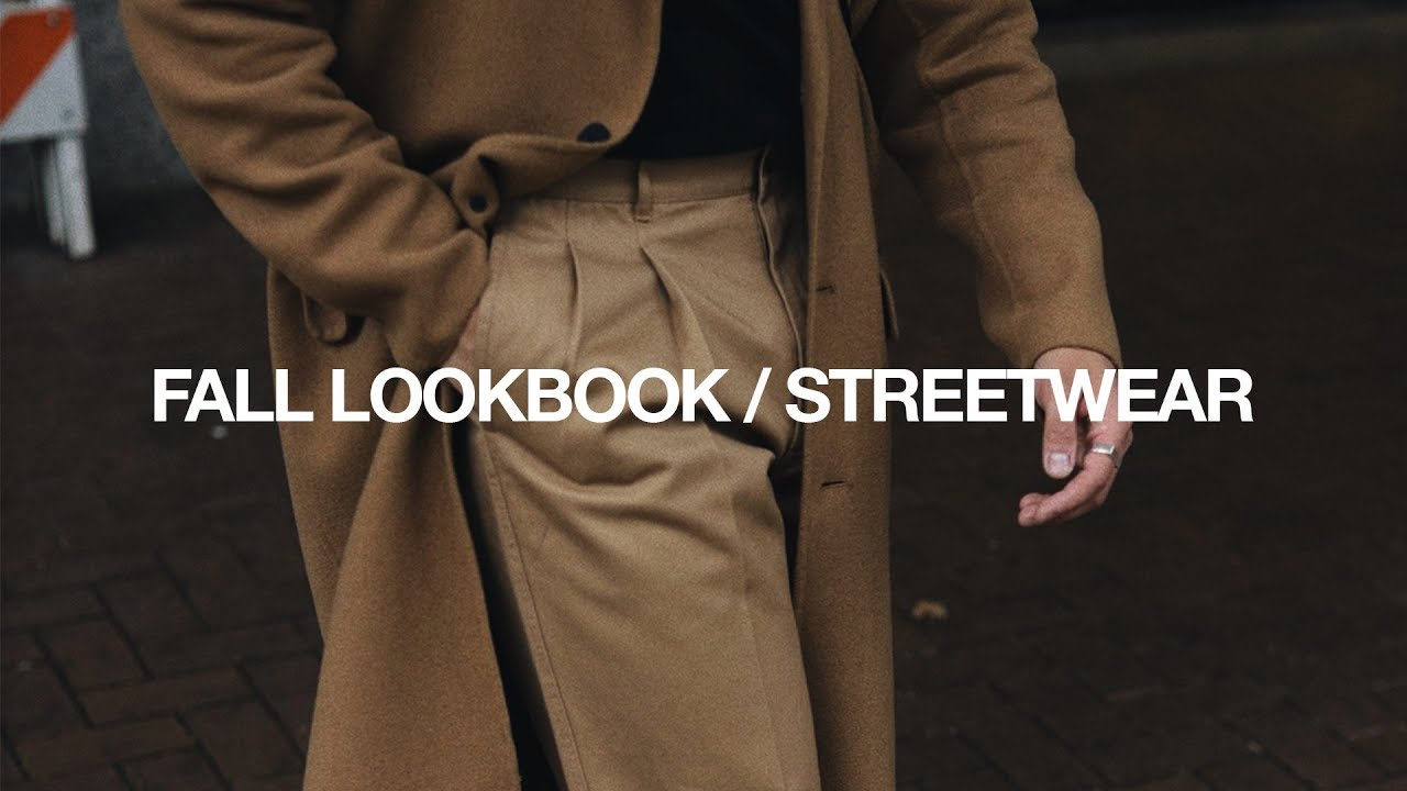 [VIDEO] - FALL LOOKBOOK 2019 / Casual Streetwear Outfits 1