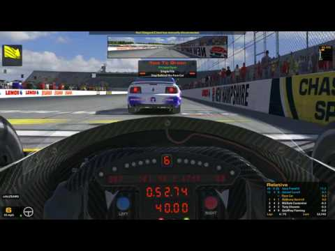 iRacing INDYCAR @ NEW HAMPSHIRE
