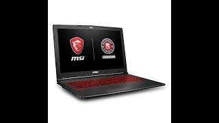 MSI GV62 8RD 034 15 6  Thin and Light Gaming Laptop, GeForce GTX 1050Ti 4G, Intel i7 875