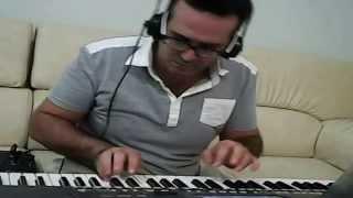 Khedni Habibi _خذني حبيبي - ماجدة الرومي - عزف رامز بيروتي