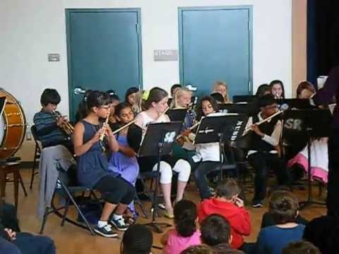 san ramon elementary school band #1