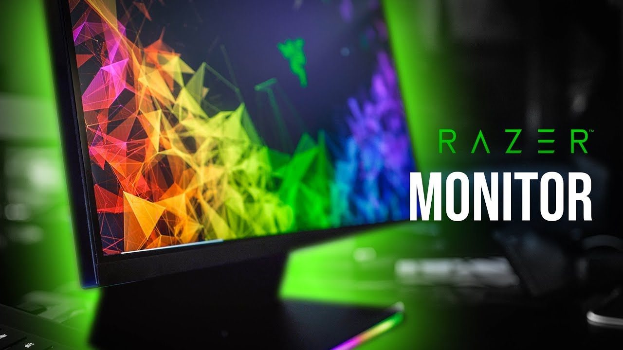 Razer's Raptor Gaming Monitor Looks AWESOME!