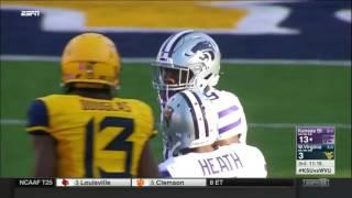 Kansas State at West Virginia | 2016 Big 12 Football Highlights