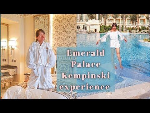 Dubai Staycation 🇦🇪 |The Emerald Palace Kempinski