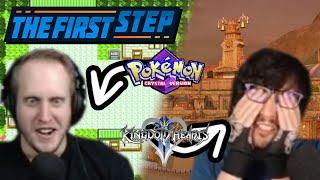 The First Step - Kingdom Hearts 2 and Pokémon Crystal Randomizer 2 Swapped