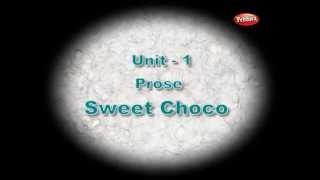 sweet choco prose   unit 1   samacheer 2nd std english