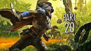Destiny gameplay walkthrough part 20 - black garden - mission 20 (ps4)