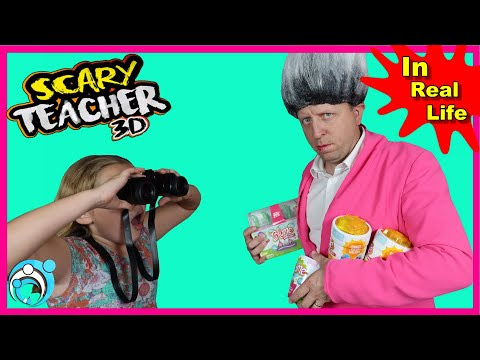 Scary Teacher In Real Life Pranks The KIDS | Thumbs Up Family