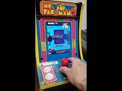New Arcade1up Ms Pac Man, Pac Man Plus, Galaga and Dig Dug II Table Top from tron3entertainment