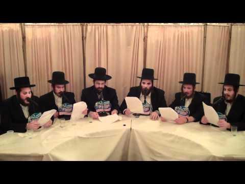 Mezamrim Choir sings Bar Mitzvah Song