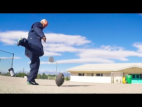 GoPro: Football Trick Shots with 'Chainsaw' Lenon