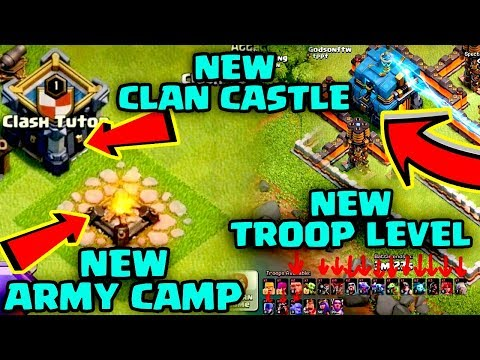 WOW 😲New ARMY CAMP || New CLAN CASTLE🔥 || 😱 New TROOPS LEVELS...Check Out !!