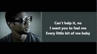 Usher - Dive - Lyrics On Screen