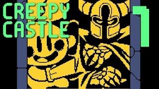 Creepy Castle - A RETRO ADVENTURE OF HOPE & DREAMS, Manly Let