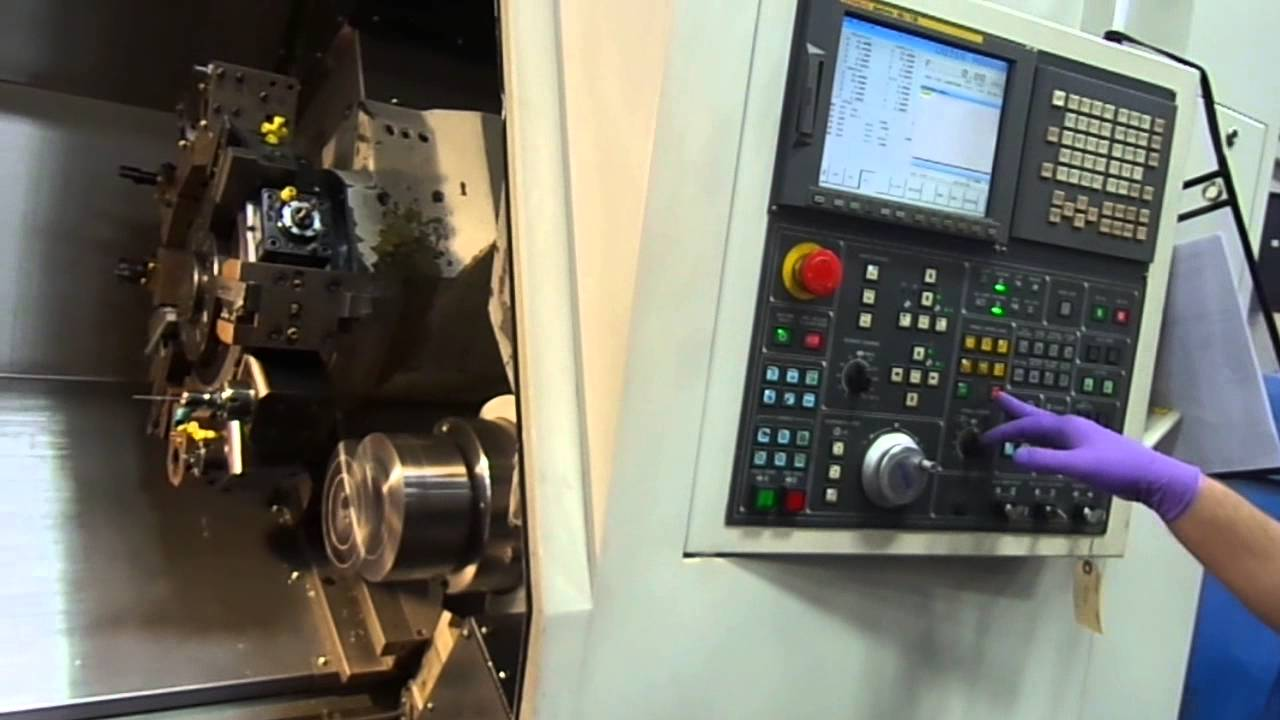 Doosan Daewoo Puma 2000SY CNC Lathe with Live Tool and Sub Spindle