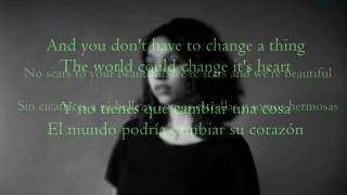 Scars To Your Beautiful - Allessia Cara|| Lyrics (Ingles& Sub.Español) MP3