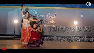 Padmaavat : Nainowale Ne | Dance Choreography | HIMANSHU | ROHINI | POOJA | Agrawal Studio Bhusawal