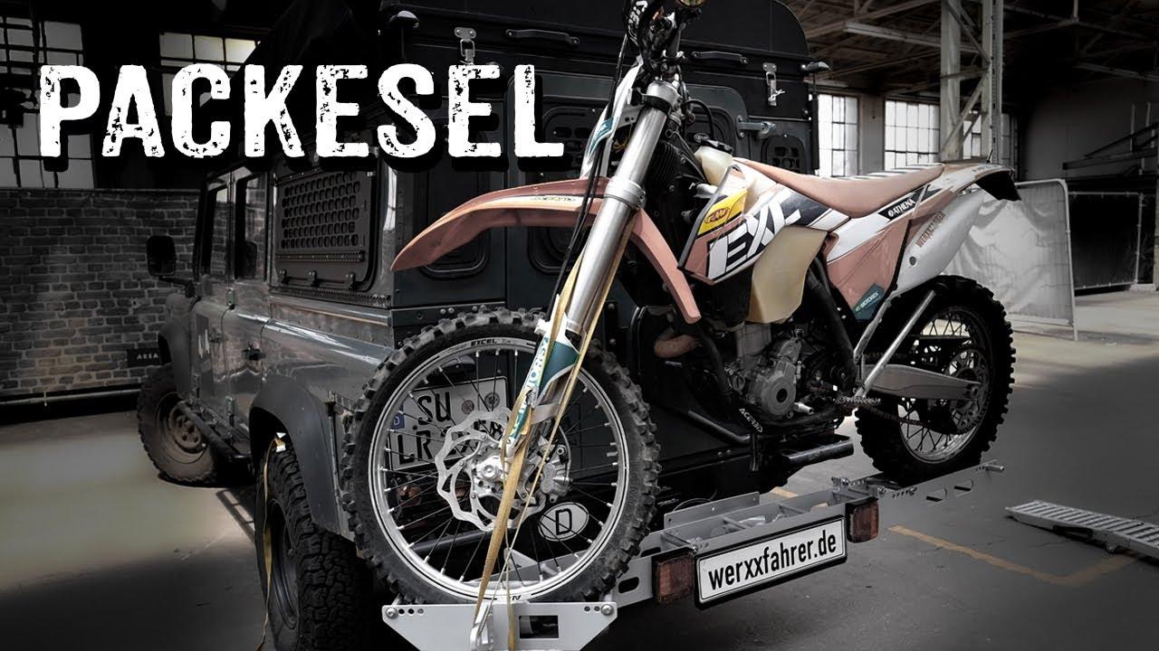 Offroad-tauglicher Heavy Duty-Träger für Motorrad und Pedelec  [349]