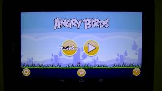 Gameplay Android - Angry Birds - Acer Iconia B1 - PT-BR - Brasil