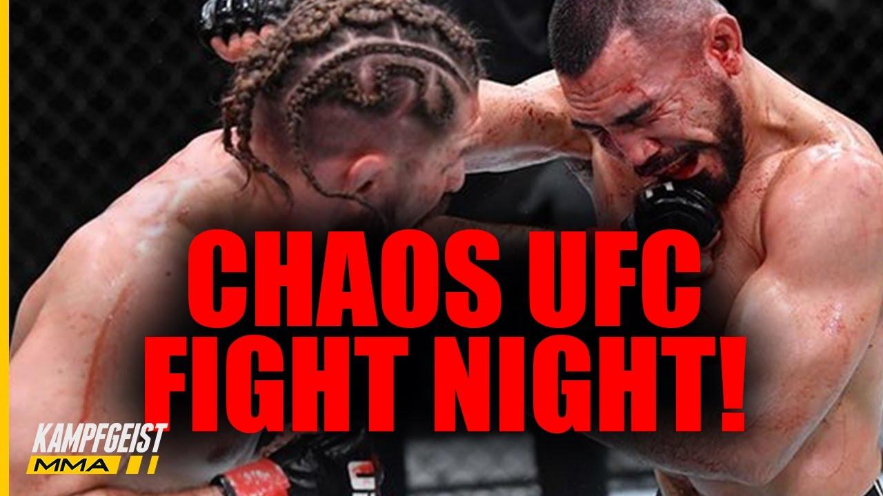 Schock! Deutscher UFC Fighter geht KO! + Kämpferin FORDERT Bonus!