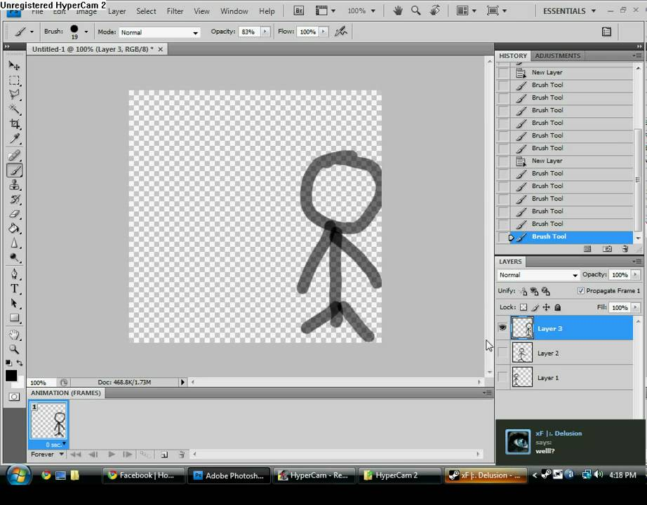 How to make animation in photoshop cs4 cs4 extended youtube how to make animation in photoshop cs4 cs4 extended ccuart Choice Image