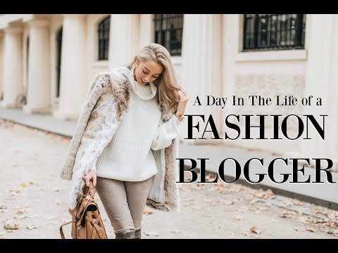 A Day in the Life of a Fashion Blogger // My 9-5 Routine   /