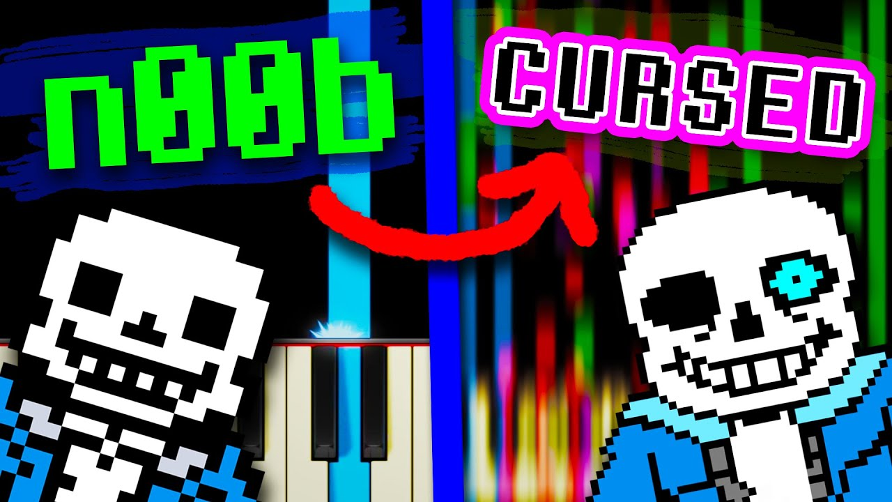 Megalovania but it gets harder and H A R D E R