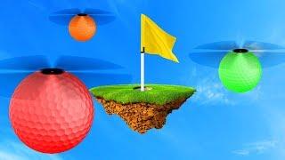 CRAZY GOLF TRICKSHOT HOLES! (Golf It)