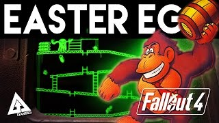 "Fallout 4 Donkey Kong Easter Egg ""Red Menace"""