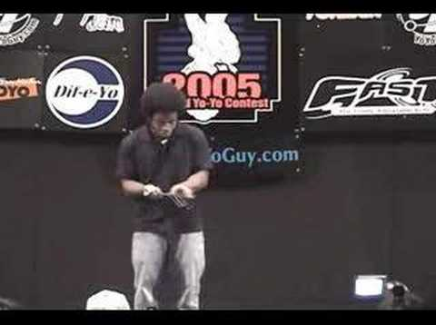 Mark Montgomery 05 World Yo-Yo Contest