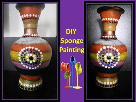 pot painting ideas | clay flower pots | home decor ideas
