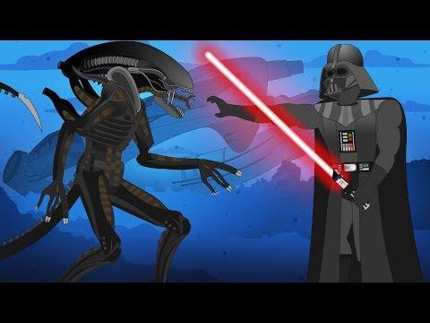 Alien Vs Darth Vader