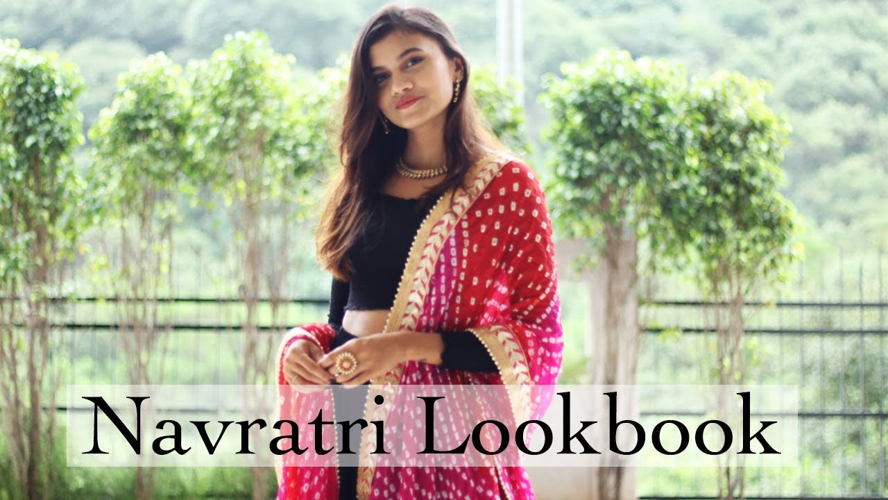 [VIDEO] - Last Minute Navratri Outfit Ideas  Navratri Lookbook 2019   Shreeja Bagwe 3