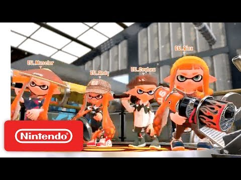 2017 Splatoon 2 World Inkling Invitational - Round Robin - Part 2 - Nintendo E3 2017