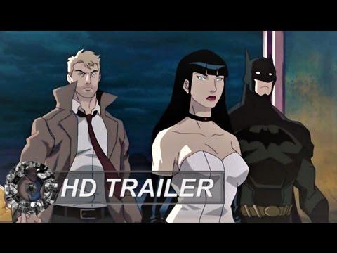 Trailer do filme Liga da Justiça Sombria