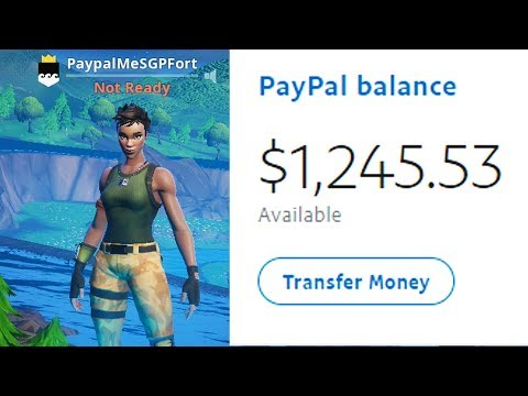 I Put My PAYPAL In My Fortnite Name And Made This Much..