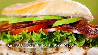 Grilled Chicken Blt With Basil Mayo - Foodie - Us