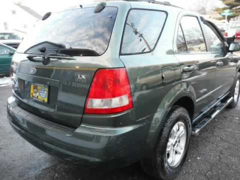 2004 Kia Sorento LX 3.5 V6 4WD 5 SPEED MANUAL FREE WARRANTY NEW TIRES  (Akron, Ohio)