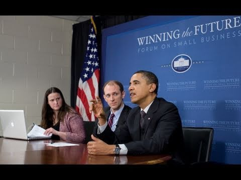 Online Forum on Small Business: President Obama on Jobs of the Future
