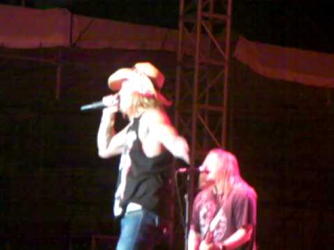 Bret Michaels - Clearfield PA - What I Got Sublime Cover - Chuck Fanslau Drum Solo