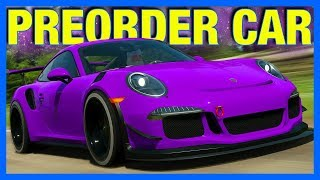 Forza Horizon 4 : One Of The Fastest Cars!! (Porsche 911 GT3 RS Preorder Edition)