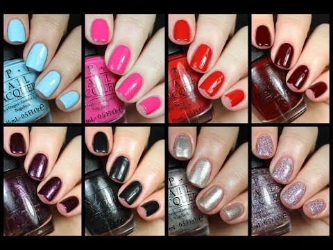 OPI Breakfast at Tiffany's Review + Comparisons!