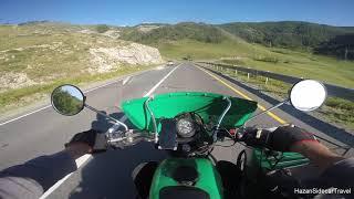 Через перевал Чике-Таман на мотоцикле Урал туда и обратно.