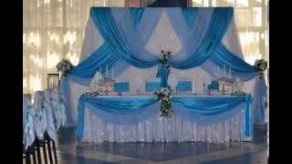 видео Оформление свадьбы в ресторане гостиницы Турист