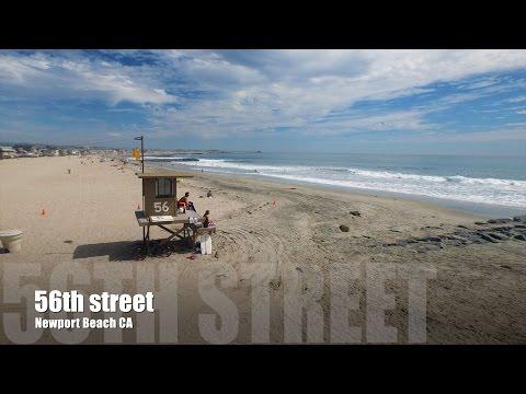 56th Street Surfing Newport Beach CA