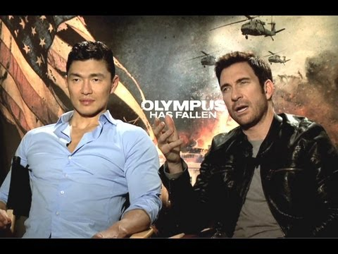 Dylan McDermott & Rick Yune Interview - Olympus Has Fallen (JoBlo.com)