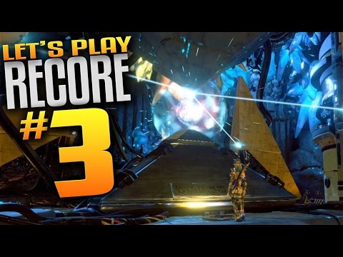 ReCore Gameplay - Ep 3 - Rifle Red Affinity Upgrade & Pylon 512! (Let's Play ReCore)