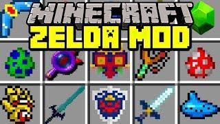 Minecraft ZELDA MOD! | NEW MASTER SWORD, SHIELD, BOWS, BOSSES & MORE! | Modded Mini-Game #Minecraft