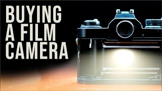 How to BUY your first FILM CAMERA.