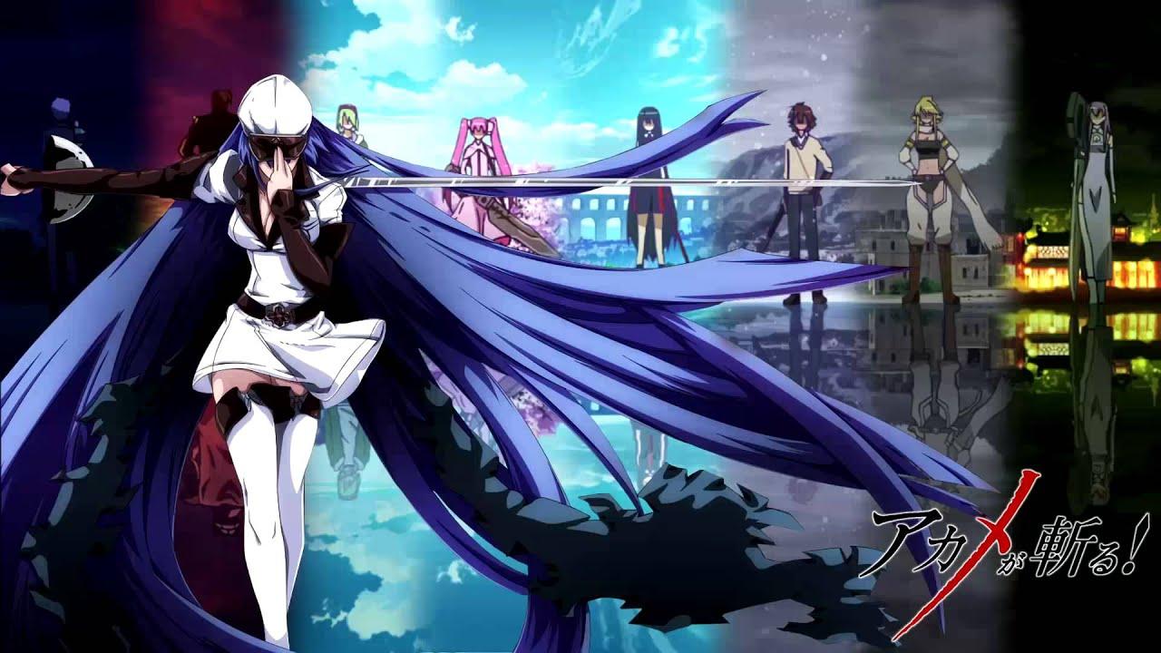 アカメが斬る Akame Ga Kill 01 Incursio Ost 1080p Mp4
